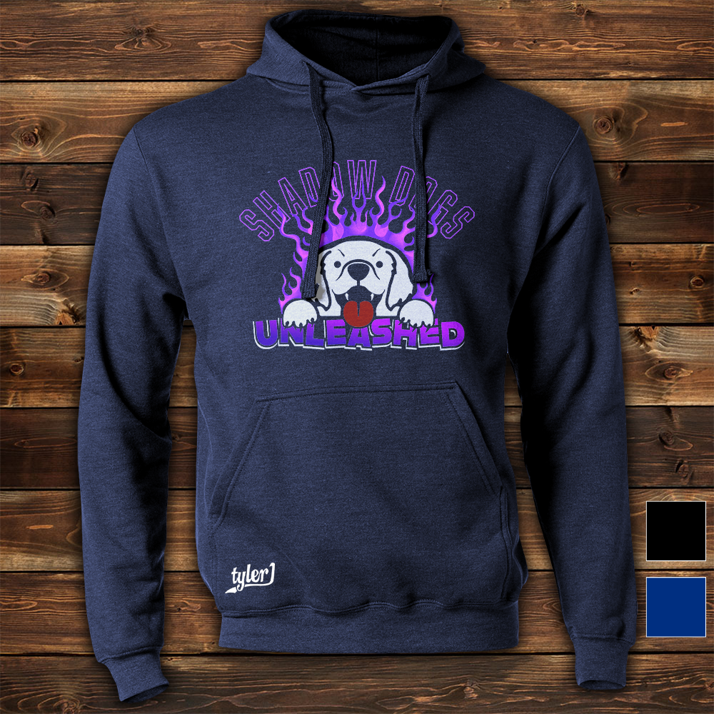 Shadow Dogs Hoodie - Midnight Blue