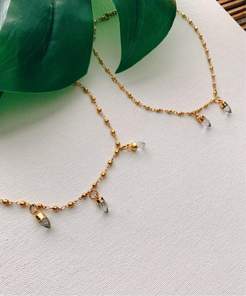 Image of SABER • Quartz Necklace