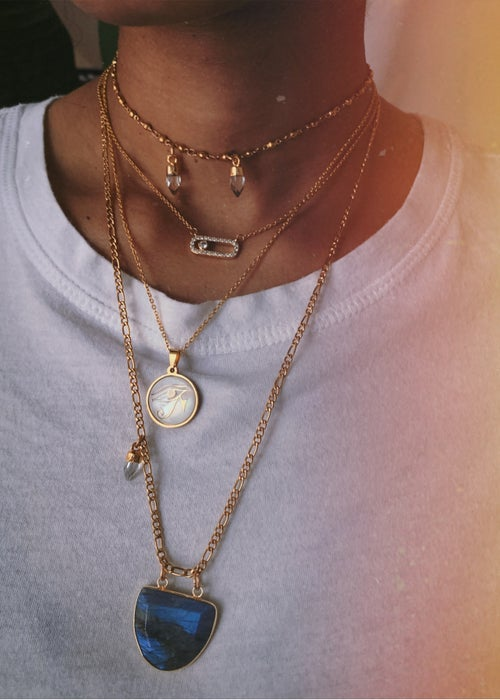 Image of SABER • Quartz Necklace