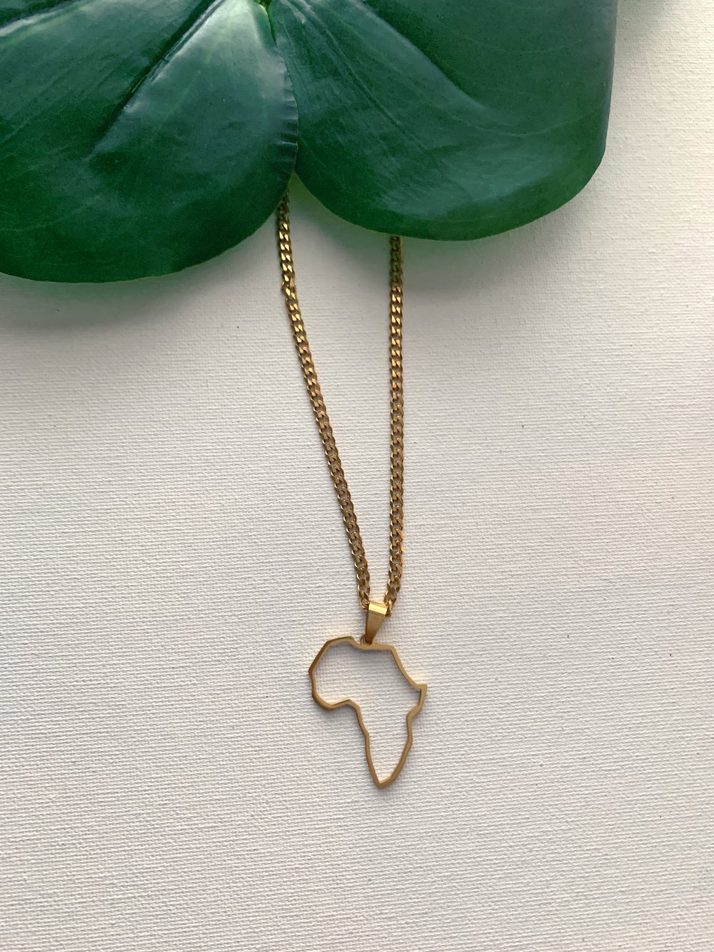 Image of BAOBAB • Africa Pendant Necklace