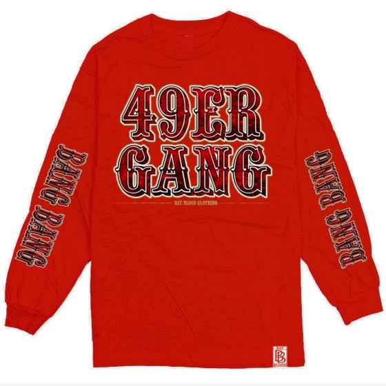 Image of 49ER GANG Long Sleeve (red)