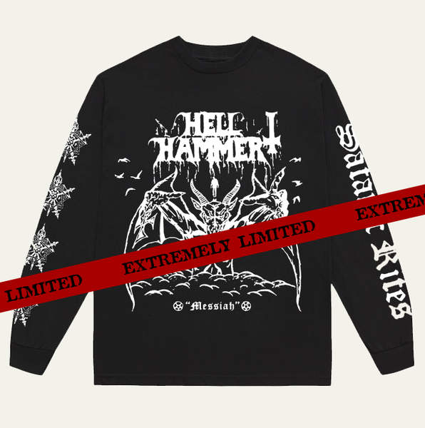 Image of HELLHAMMER - TRIUMPH OF SATANIC DEATH RITES LONG SLEEVE