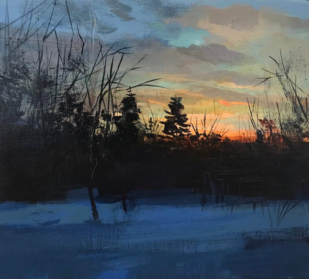 Image of Winter sunset No 8