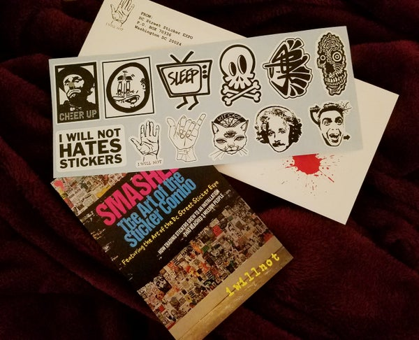 Image of Street Art Stickers - Multi Artist Sticker Pack