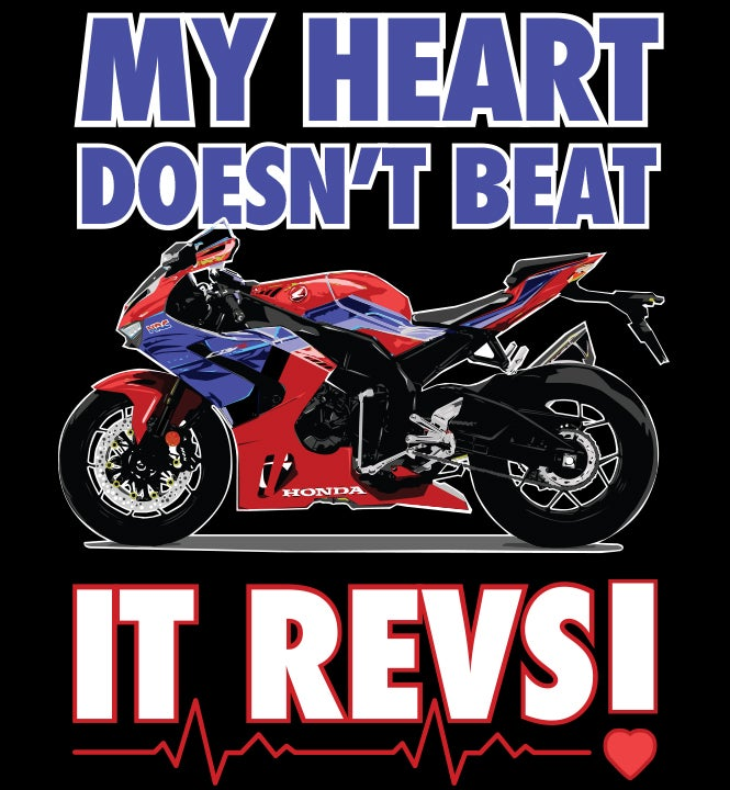 Image of My Heart Revs! - T-Shirt