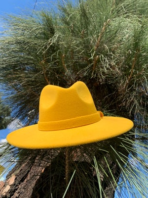 Image of The safo fodora hat - golden