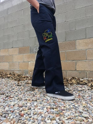 Image of Embroidered Logo Dickies 874 (Dark Navy)