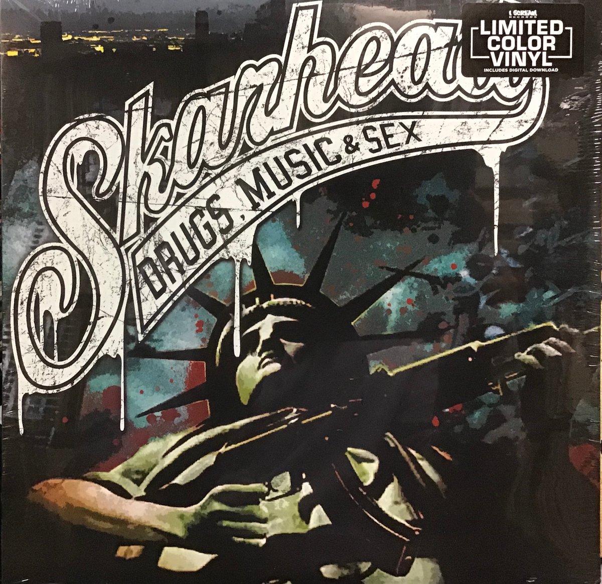 "Image of Skarhead ""Drugs, Music, Sex"" LP LIMITED COLOR VINYL"