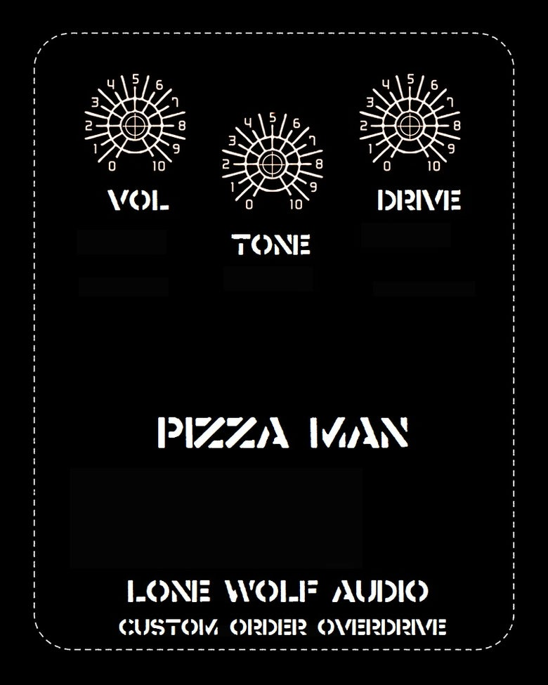 Image of Pizza Man - Custom Order Overdrive.