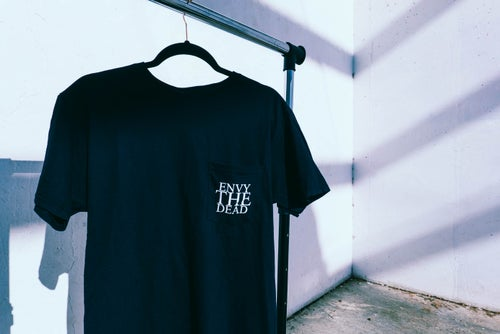 Image of ENVY THE DEAD POCKET TEE