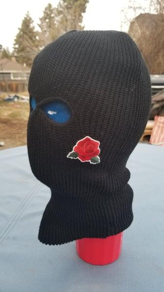 Image of Rose ski mask