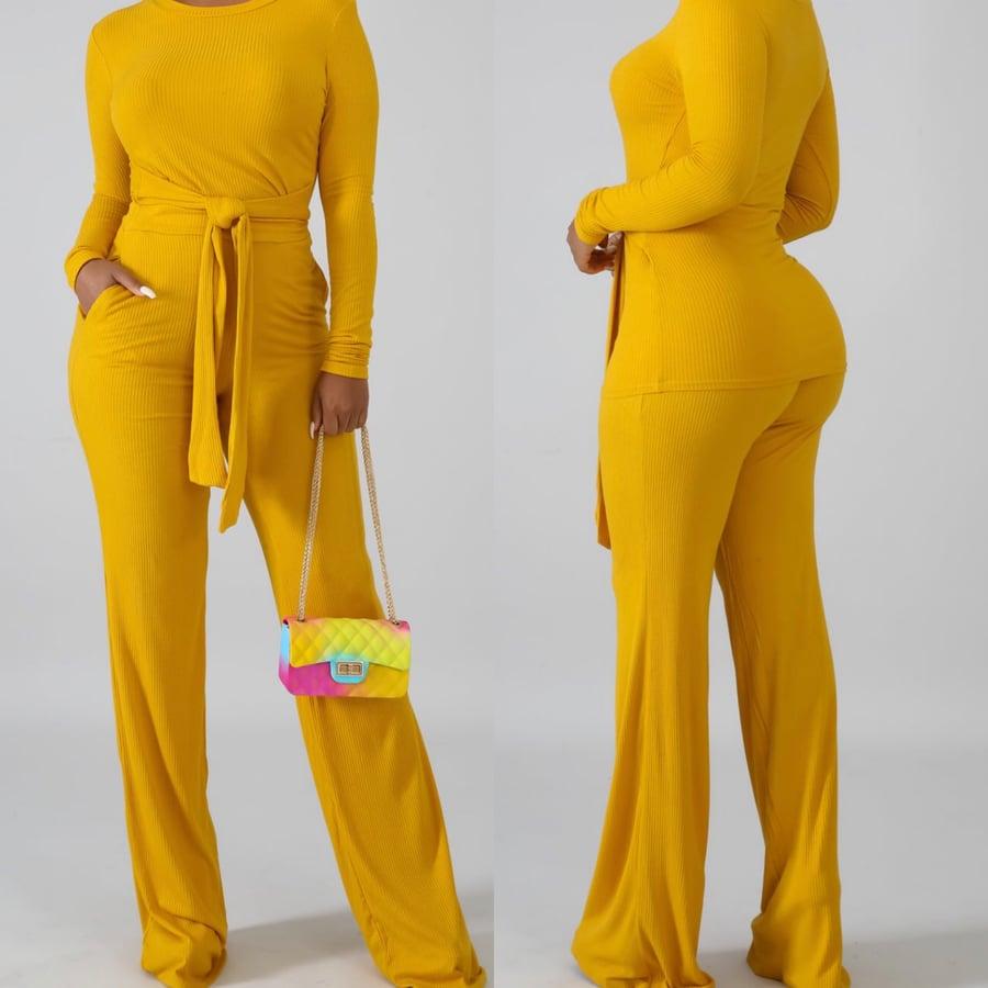 Image of Wear it 2 ways mustard set