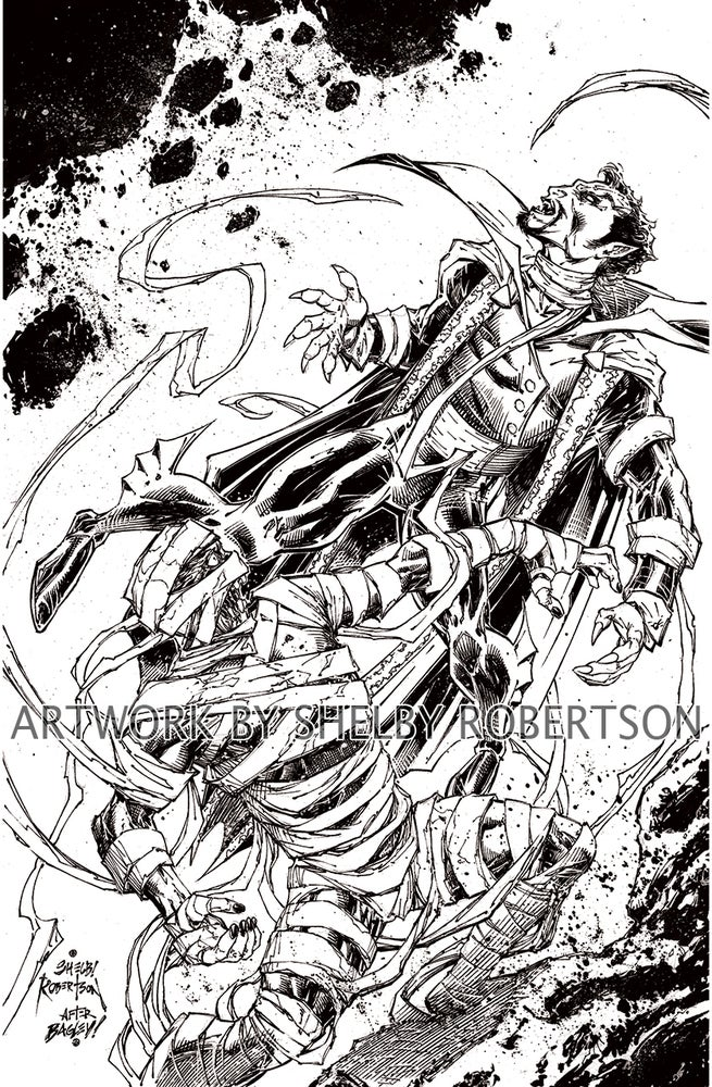 "Image of Creature Collection *ASM361 Homage* Original Cover Artwork 11"" x 17"""