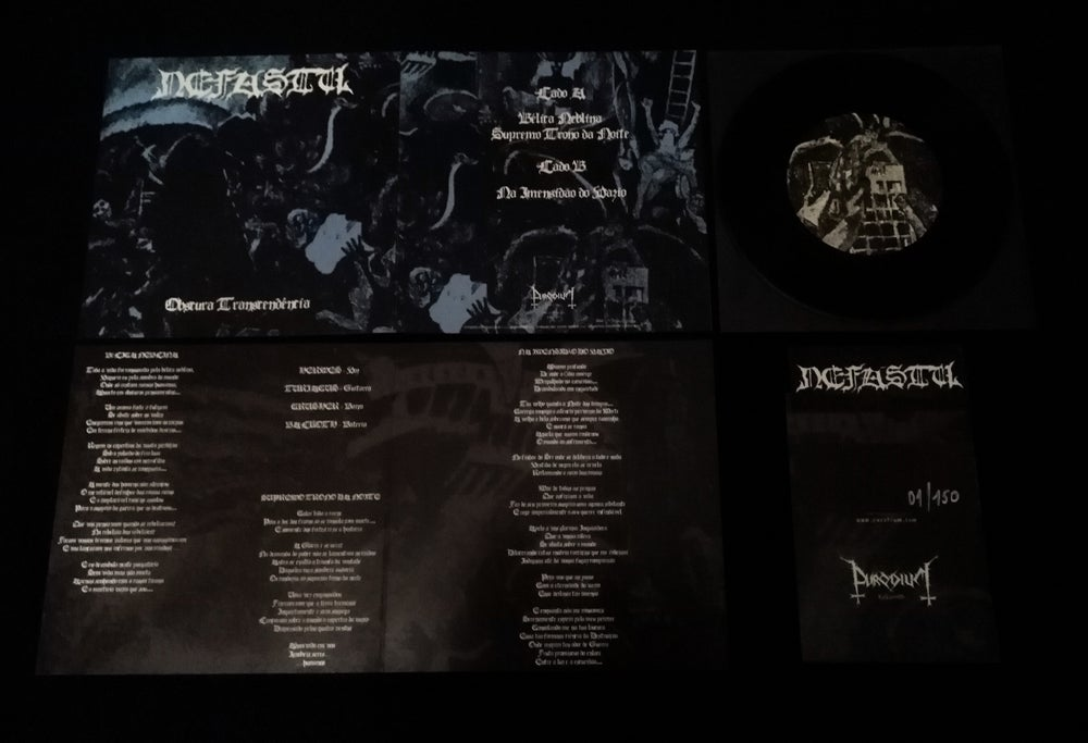 Image of Nefastu - Obscura Transcendência - 7EP