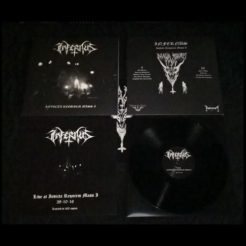 Image of Infernüs – Live At Invicta Requiem Mass I – 12″LP