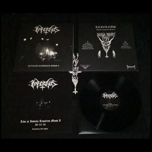 Image of Infernüs – Live At Invicta Requiem Mass I – 12″LP