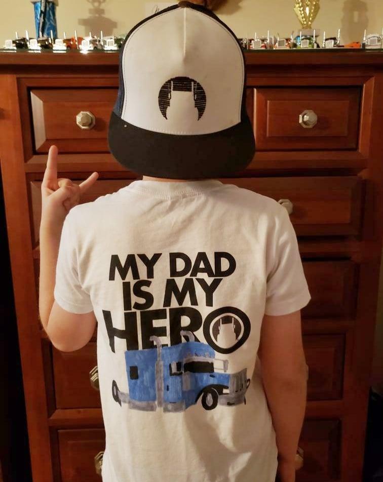 Image of Hero Dad Youth Shirt