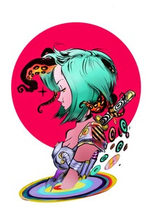 """Image of Limited Edition """"Interdimensional Tentacles"""" Print"""