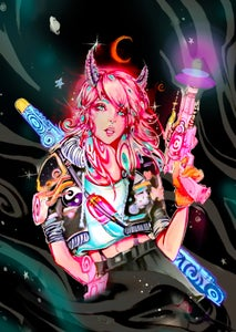 "Image of Limited Edition ""Space Bandit"" Print"