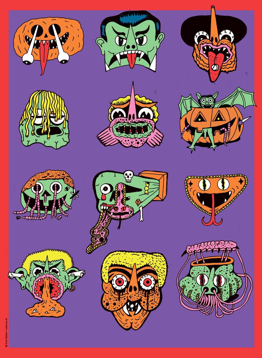 Image of Halloween plakat