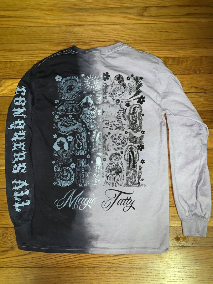 Image of TRUE LOVE CONQUERS ALL *half n half longsleeve*
