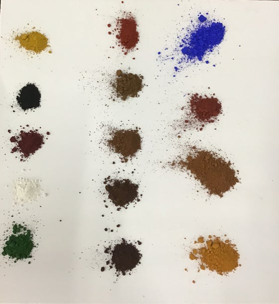 Image of Mr. Cornwall's Creative Colours - pigments