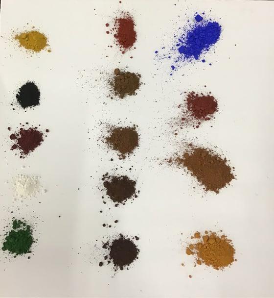 Image of Mr. Cornwall's Creative Colours - pigment powders 9 oz jar