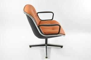Image of Fauteuils de bureau Pollock / Knoll 70'