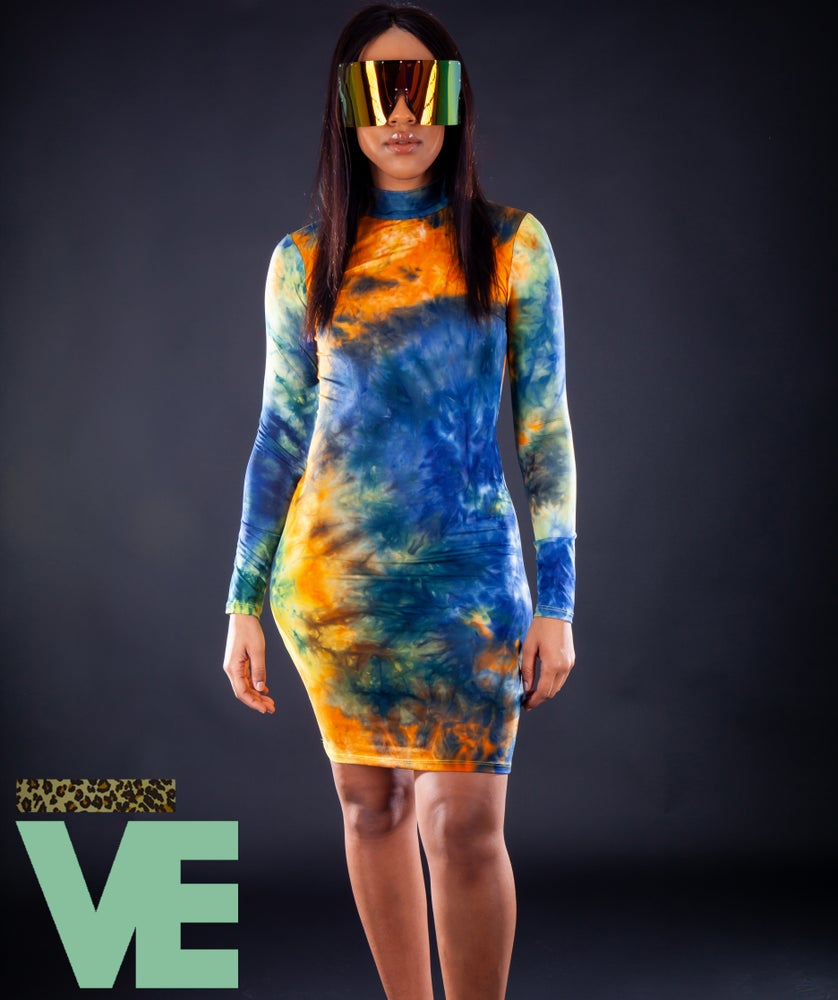 Image of Tie Dye Dress