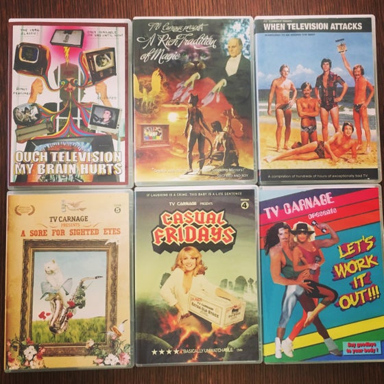 Image of ALL 6 DVDS