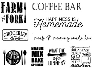 Image of Kitchen Designs Collection - 16x24 Pallet Style Wood Sign