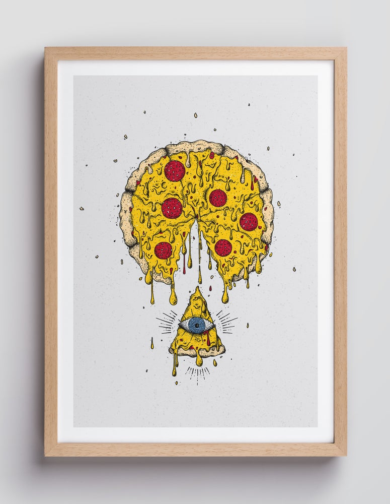 Image of PIZZA – DIN A4