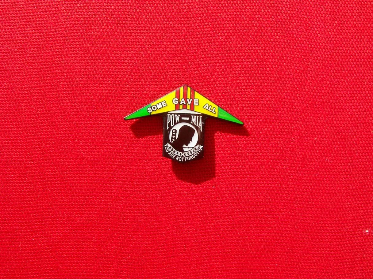 Image of Vietnam Veteran / POW MIA pin