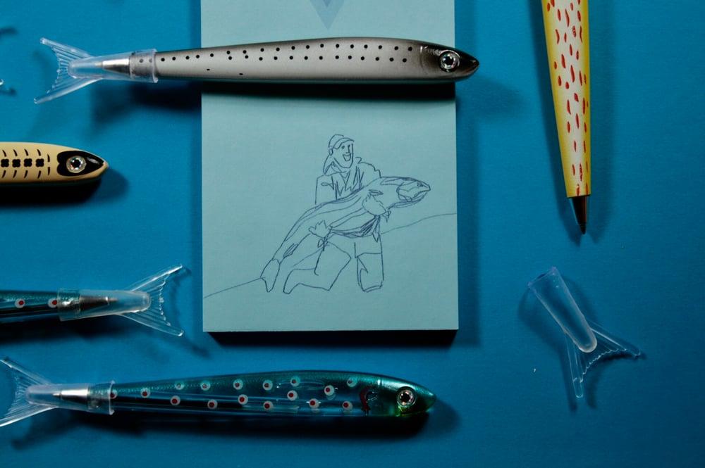 Image of FISH PENS