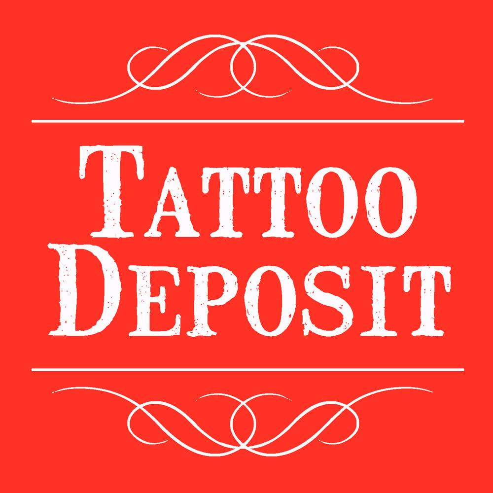 Image of Tattoo Booking Deposit