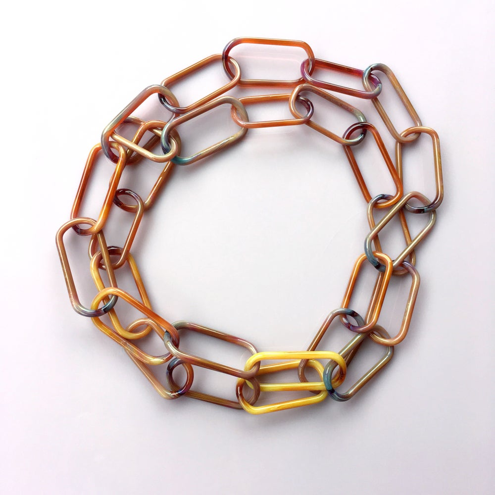 Image of tortie necklace