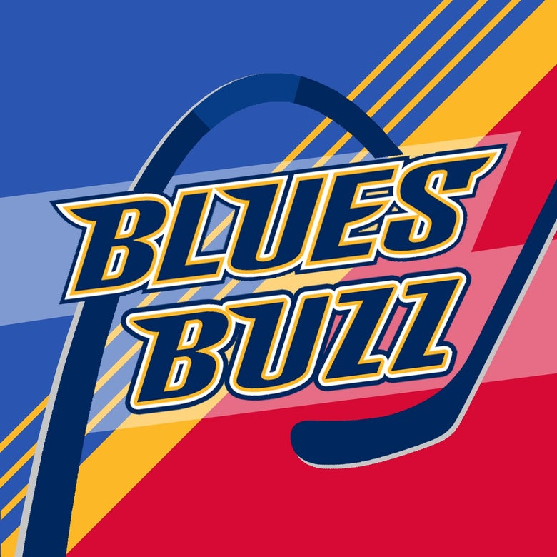 Image of Retro Blues Buzz Sticker