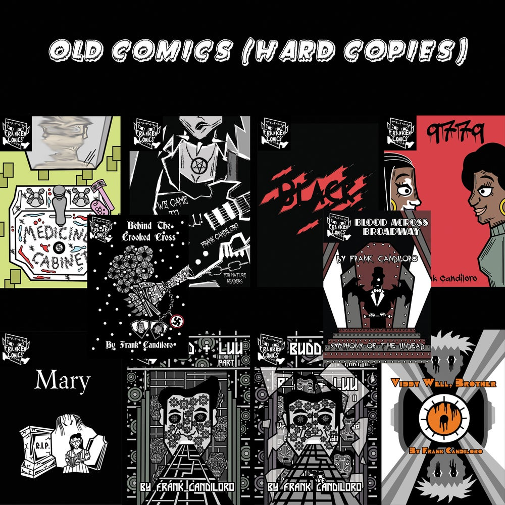 Image of Old comics! (hard copies)