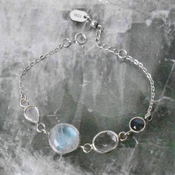 Image of ANGEL HEART silver bracelet