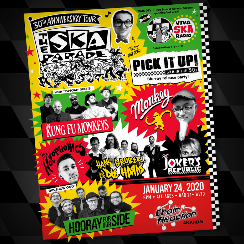 Image of Ticket | Ska Parade 30th Anniversary Tour - Chain Reaction, Anaheim, CA - January 24, 2020