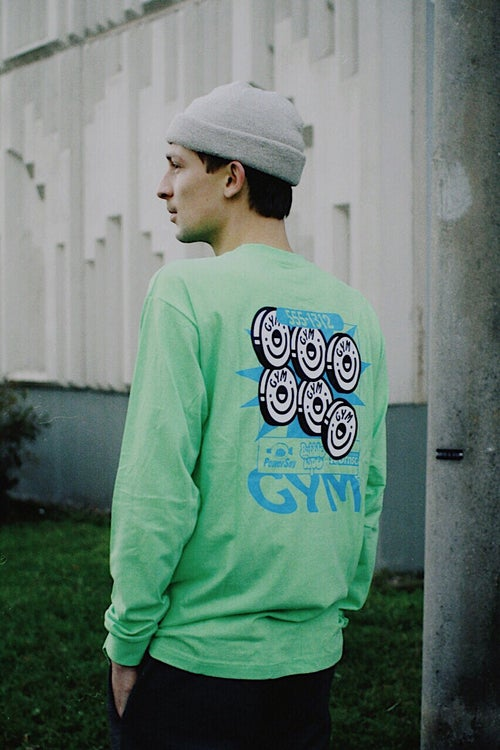 Image of YO! x GYM Longsleeve / Green