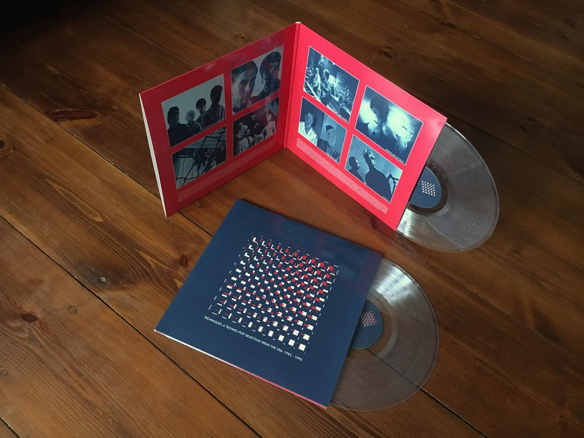 Image of Techniques. A Techno-Pop Selection from the USA: 1982-1990 2LP