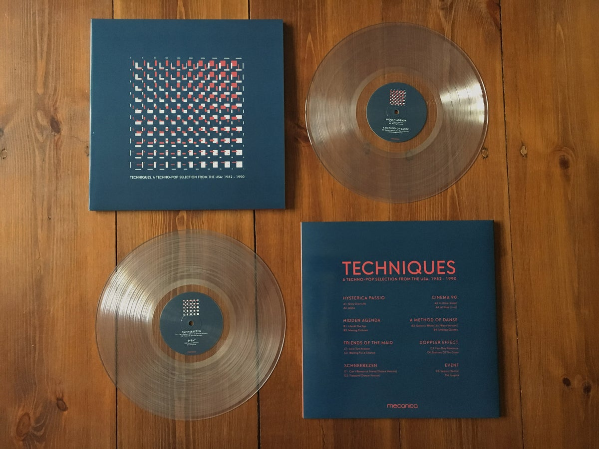 Image of Techniques. A Techno-Pop Selection from the USA: 1982-1990