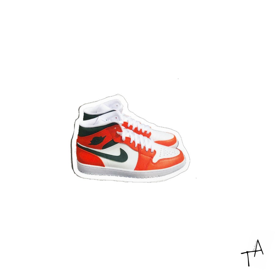 Image of Fall 19' AJ1 Sticker