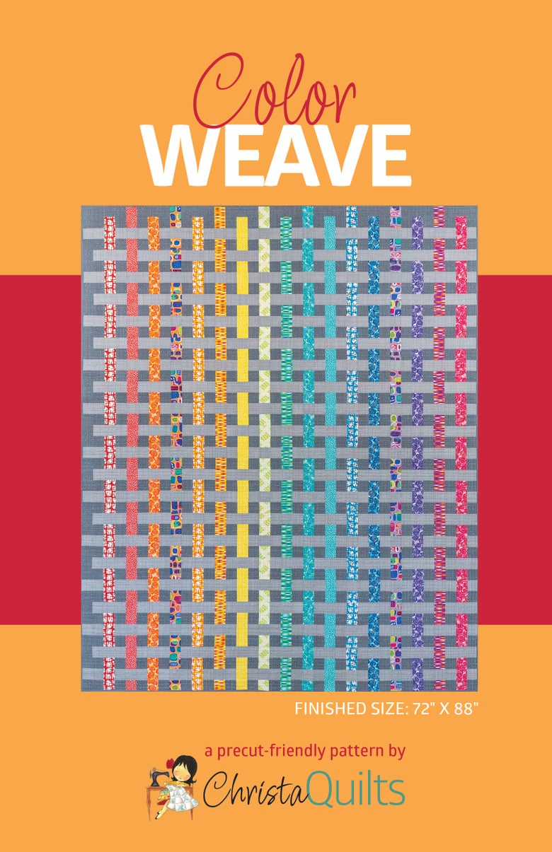 Image of Color Weave Quilt Pattern by Christa Watson (CQ122)