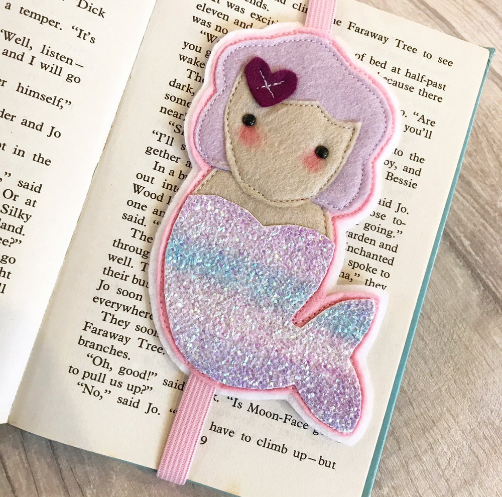Image of Mermaid bookmark