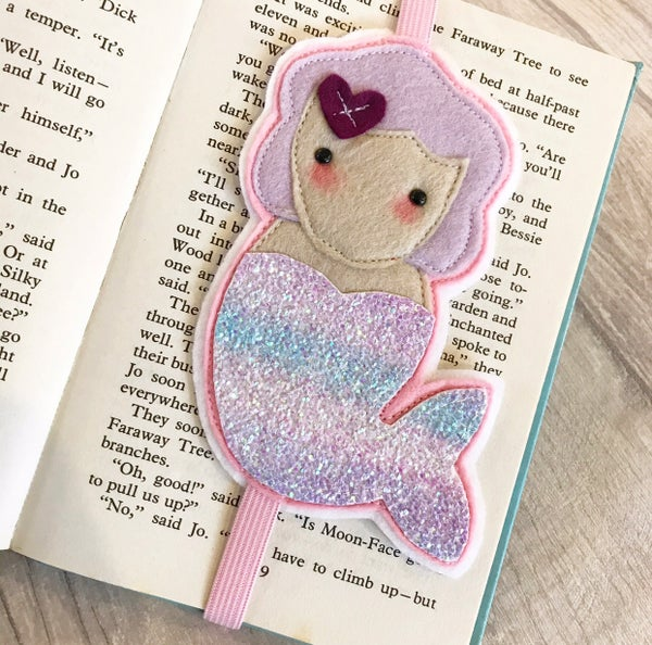 Image of Mermaid bookmark