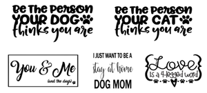 """Image of Pet Lovers Designs Collection - 24"""" Round Wood Sign"""