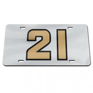 Image of Acrylic License Plate