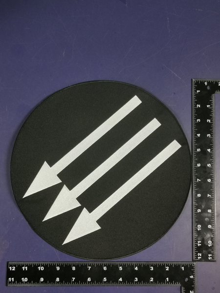 Image of Embroidered Iron Front backpatch